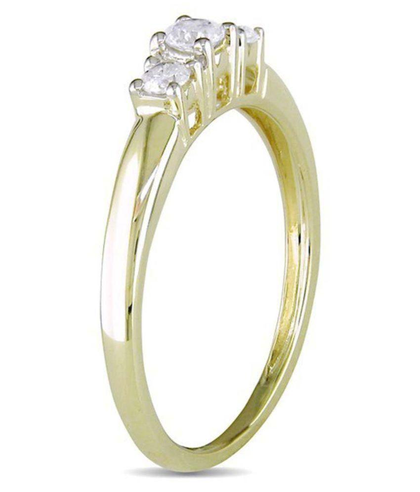 Kiara Jewellery 92.5 Silver Cubic zirconia Ring