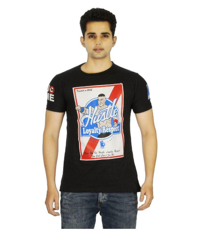 Attitude Black Round T-Shirt