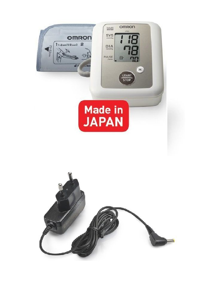 Omron ( HEM -7117) Upper Arm Automatic Blood Pressure Monitoring System