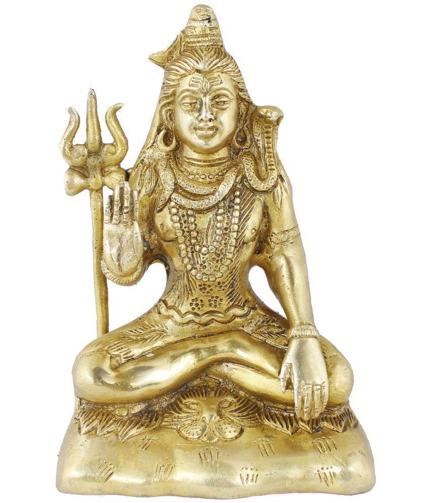 Royaltylane Shiva Brass Idol