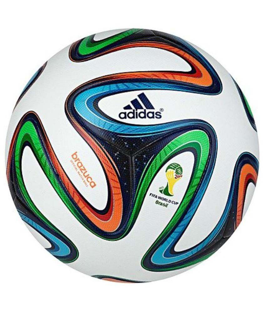 ece8167f6fff Adidas Brazuca Fifa World Cup (Size 5) Football   Ball  Buy Online at Best  Price on Snapdeal