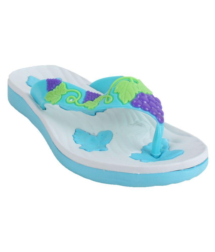Foot Frick White Slippers