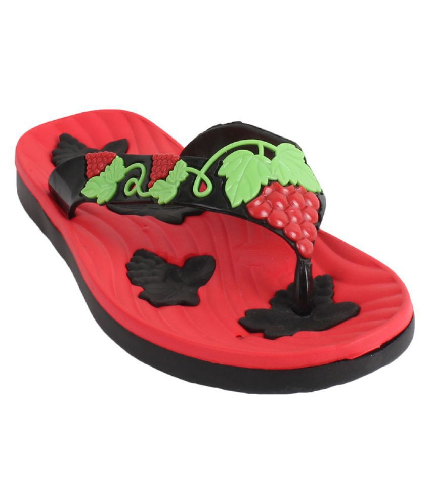 Foot frick Red Slippers