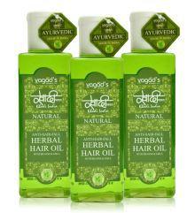 Khadi Herbals Anti-Hairfall Oil Anti-Hairfall 3 Ml Pack Of 3 - 673607158931