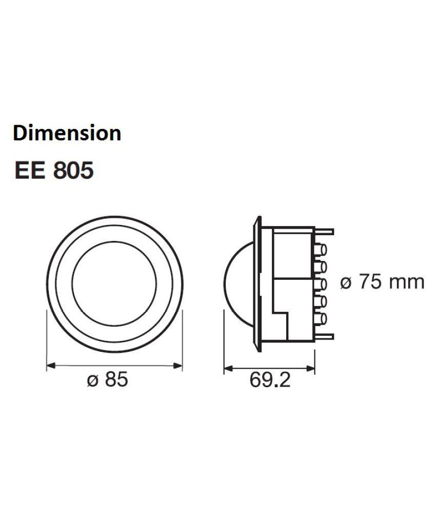 hager hager EE805 360 Motion SDL792813993 4 0072e hager hager ee805 360�� motion sensor motion sensor price in india hager ee805 wiring diagram at nearapp.co
