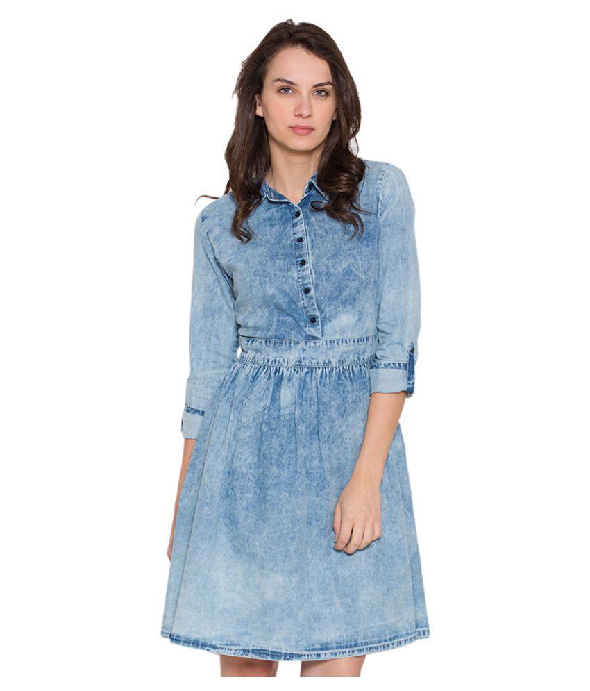 b5fa52fdbd Tokyo Talkies Denim Dresses - Buy Tokyo Talkies Denim Dresses Online ...