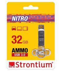 Strontium SR32GSLAMMOZ SR32GSLAMMOZ 32GB USB 3.0 Utility Pendrive silver
