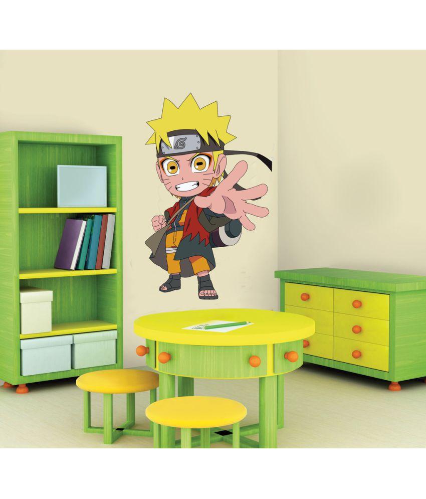 Decor Villa Naruto Vinyl Wall Stickers - Buy Decor Villa Naruto ...