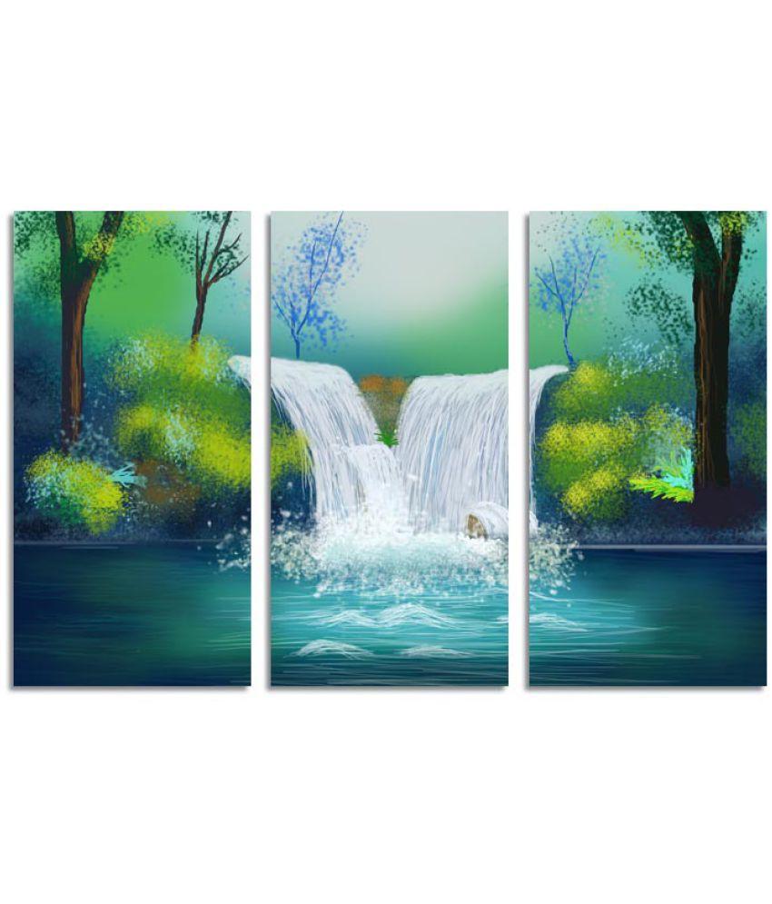 Ell Decor Landscape Canvas Art Prints Without Frame 3