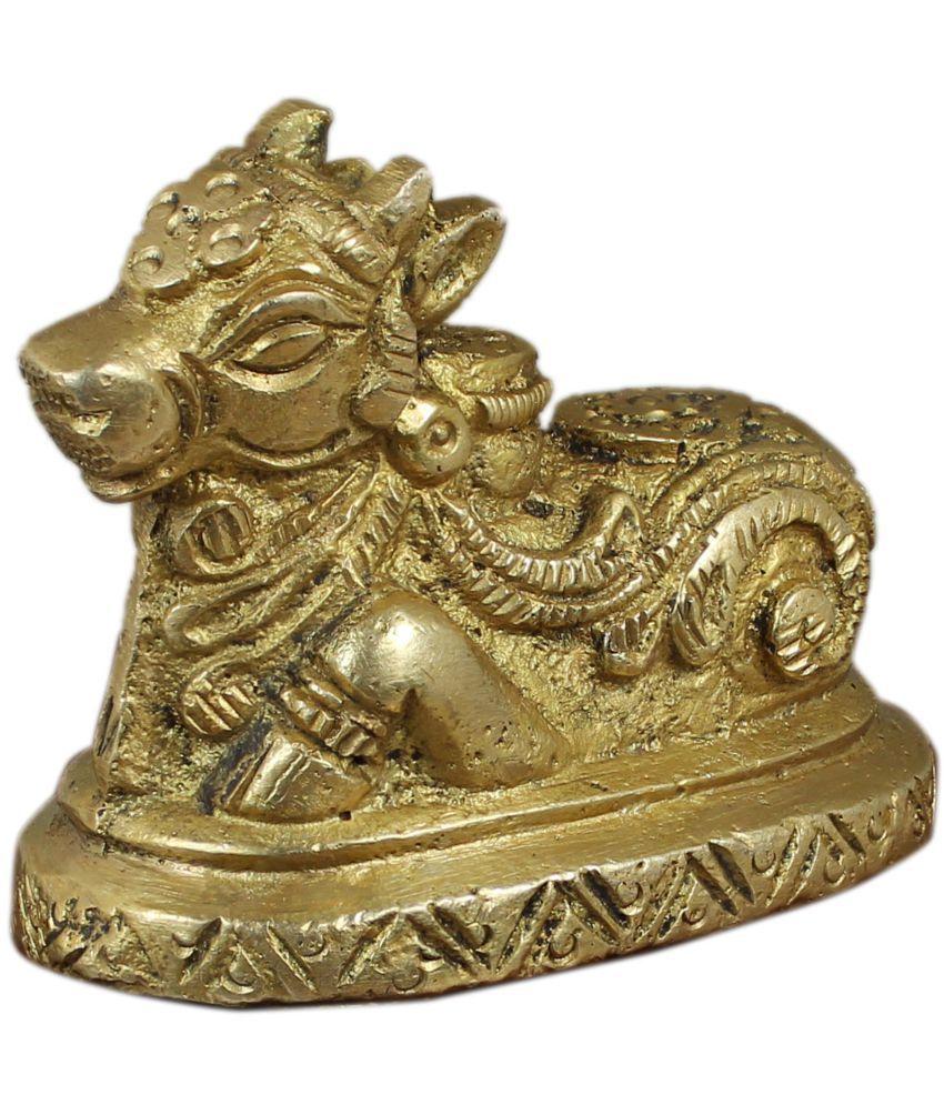RoyaltyLane Nandi Pindi Brass Idol