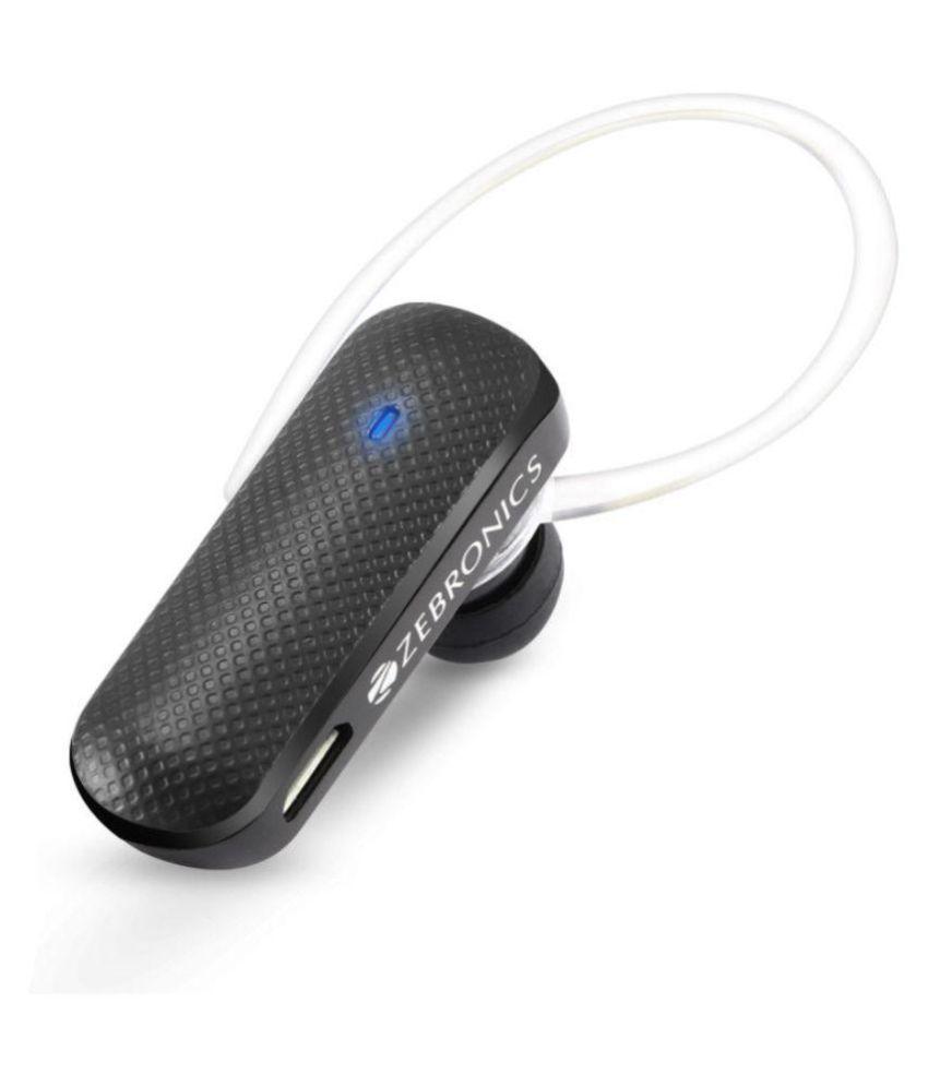 Zebronics BH555Black Bluetooth - Black