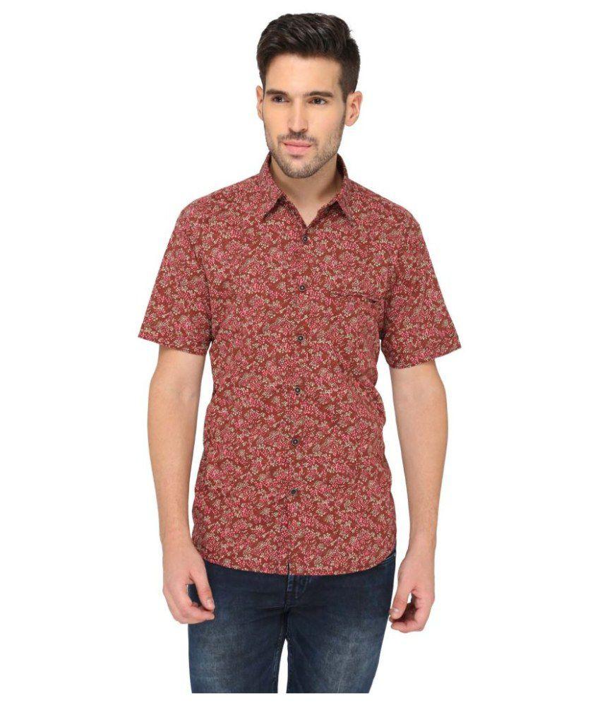 Greenfibre Multi Casuals Slim Fit Shirt