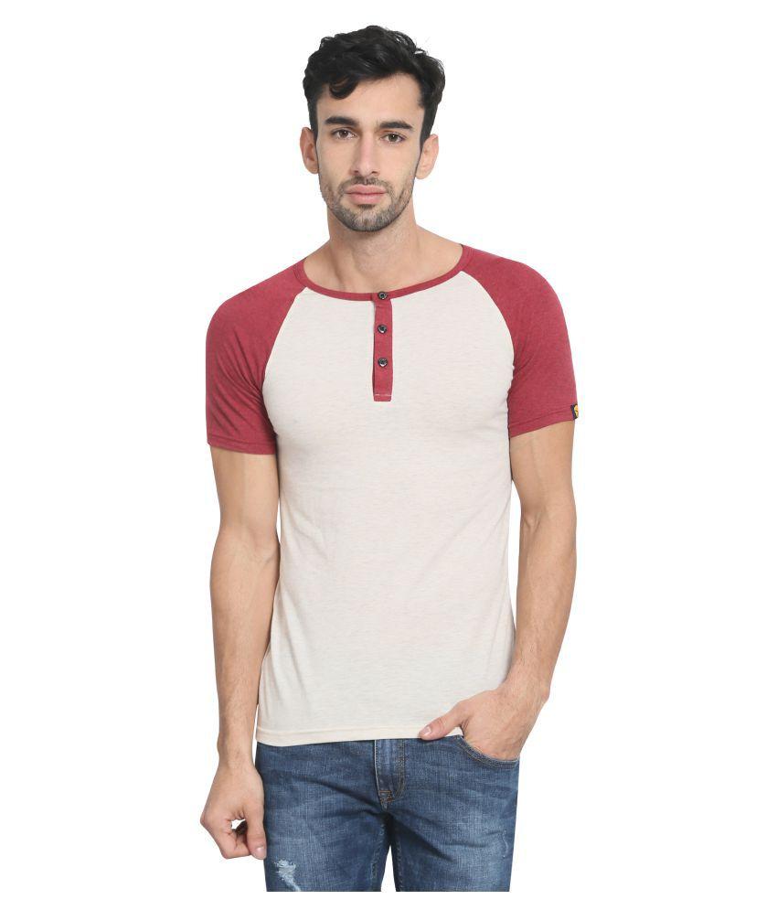 Zsolt Off-White Henley T-Shirt