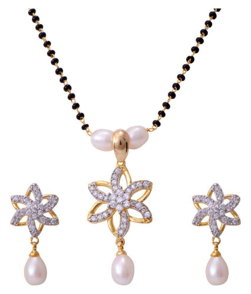 Hyderabad Jewels White Mangalsutra