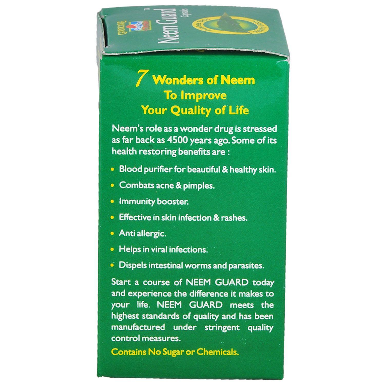 goodcare neem guard 60 capsules goodcare neem guard 60