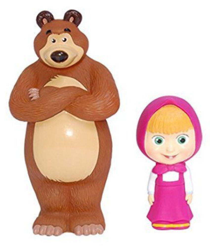 10b1f68477d5a Masha And The Bear Bath Toy Set (5.5