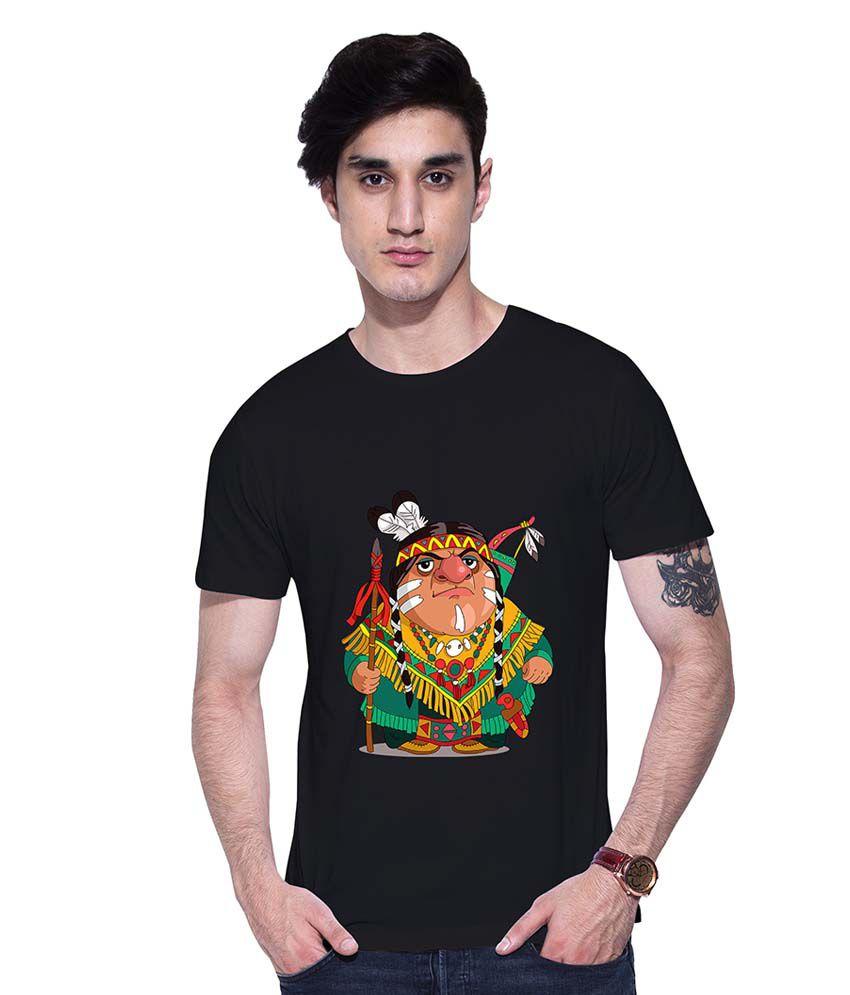 uptown18 Black Round T-Shirt