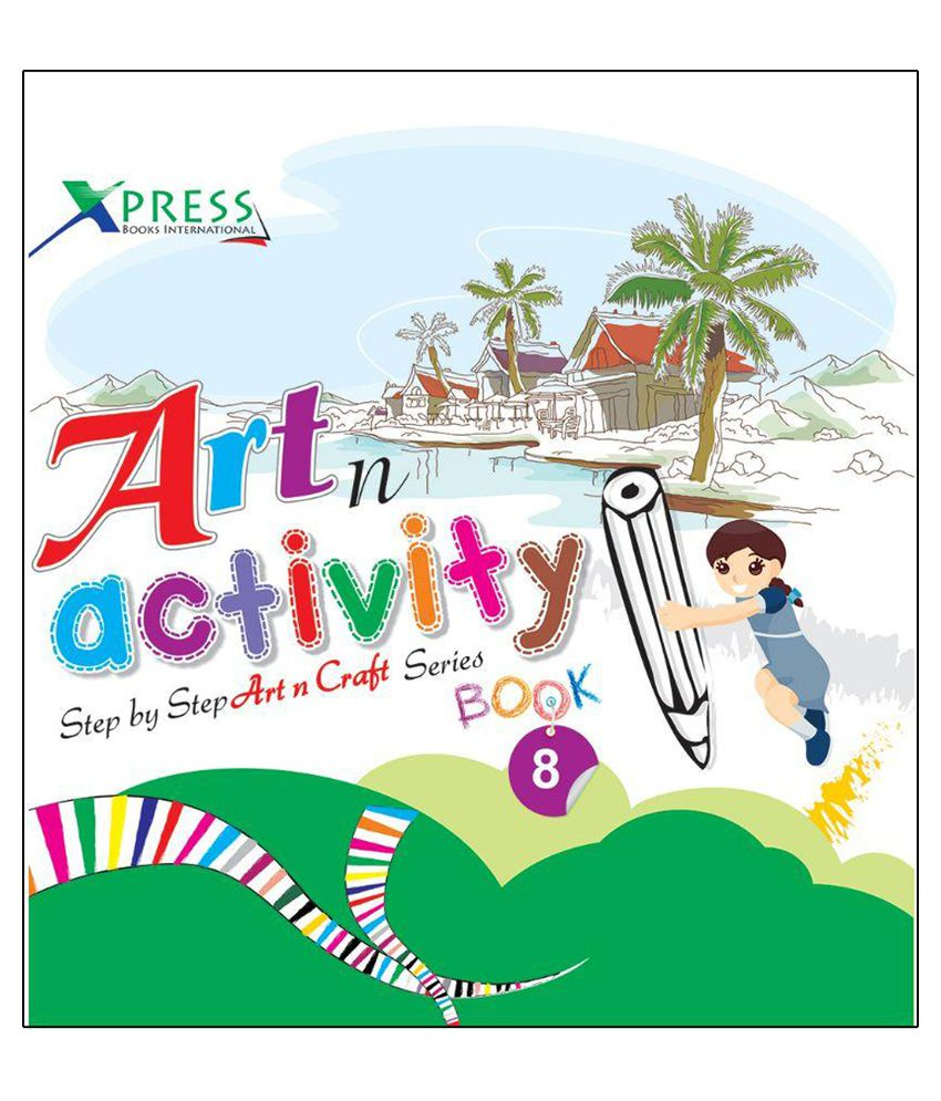 Art N Activity Book – 8 Paperback English