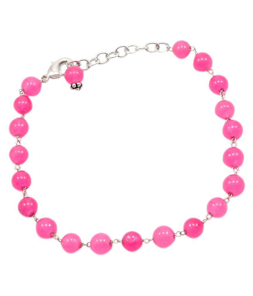 Silvesto India Pink Bracelet