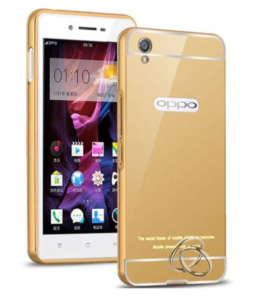 Oppo F1 Plus Case With Stand by Prego - Golden - Cases with Stand Online at Low Prices | Snapdeal India