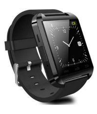 MDI U8 Black Bluetooth Smart Watch