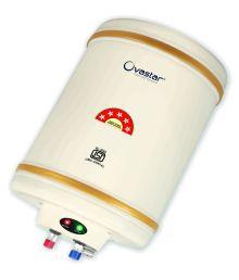 Ovastar 15 Ltr Ltr Electric Water Heater Oweg-3921 Storage Geysers Ivory