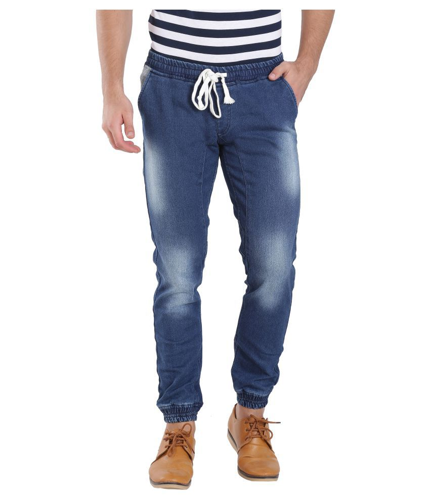 I-Voc Dark Blue Slim Jogger