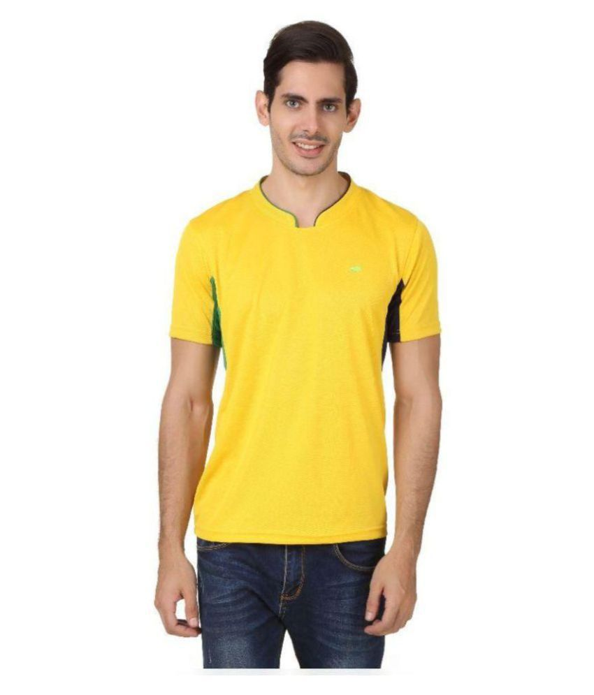 2Go Yellow V-Neck T-Shirt