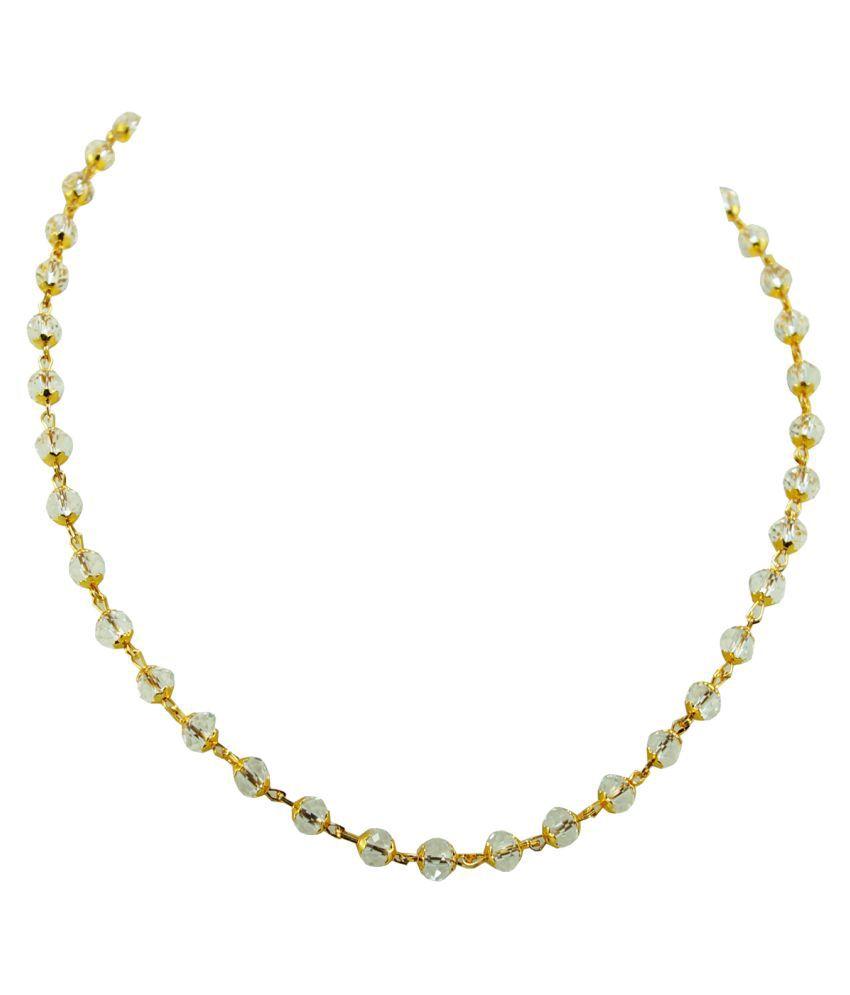 Silver ICE 92.5 Platinum Necklace