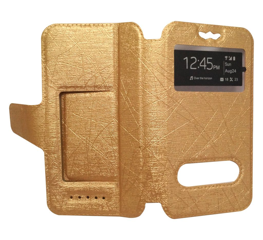 newest collection 5d2e1 41a68 Intex Aqua Power 2 Flip Cover by GEOCELL - Golden - Flip Covers ...