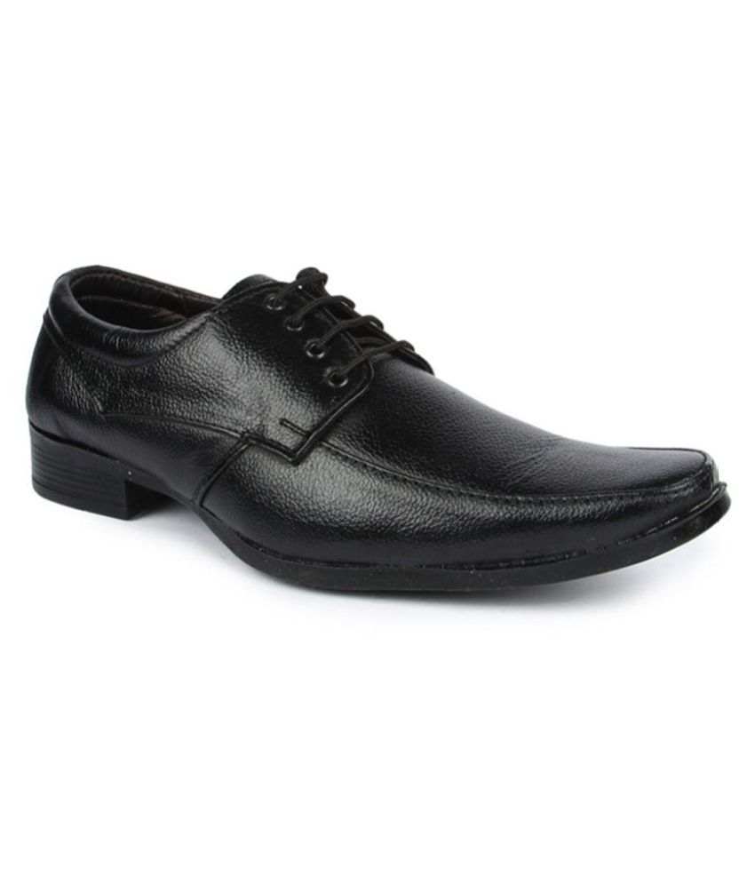 blue tuff black office non leather formal shoes price in