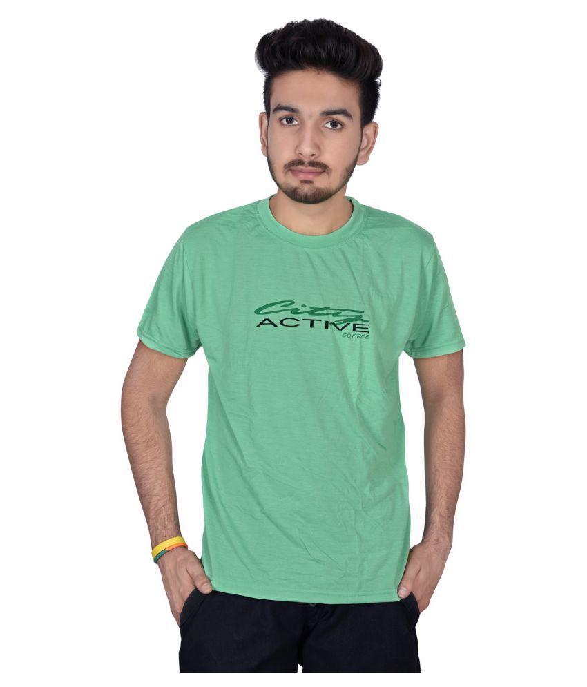 Decot Paradise Turquoise Round T-Shirt