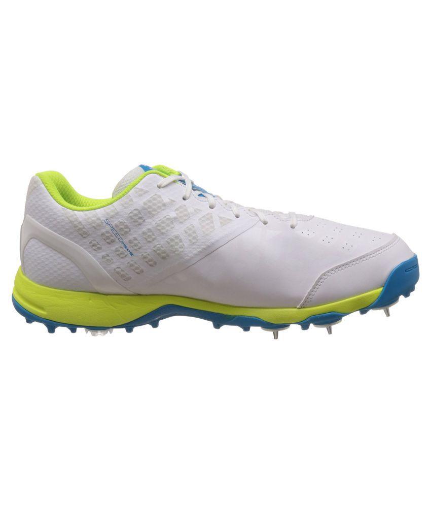 Puma Puma evoSPEED Cricket Spike 1.4 White Cricket Shoes - Buy Puma ... bd293f8e6