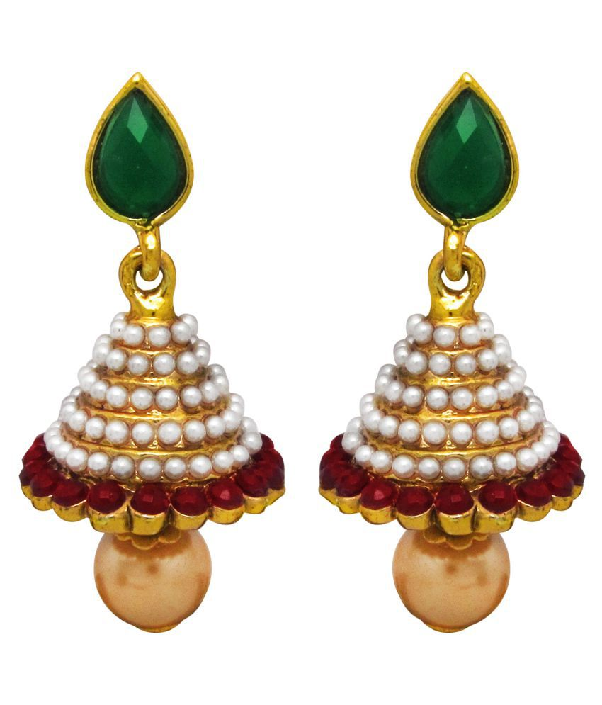 Parisha Multicolor Alloy Jhumki