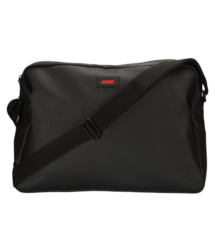 Puma Ferrari LS Reporter Black Polyester Casual Messenger Bag - Buy ... c266b1e03