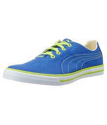 Puma Blue Sneakers