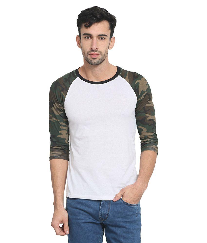 Zsolt White Round T-Shirt