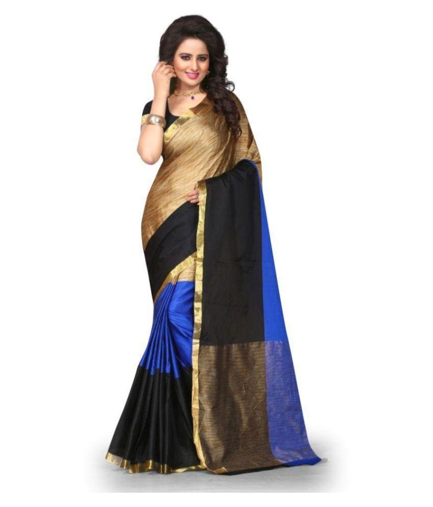 Reyansh Fshion Multicoloured Kanchipuram Saree