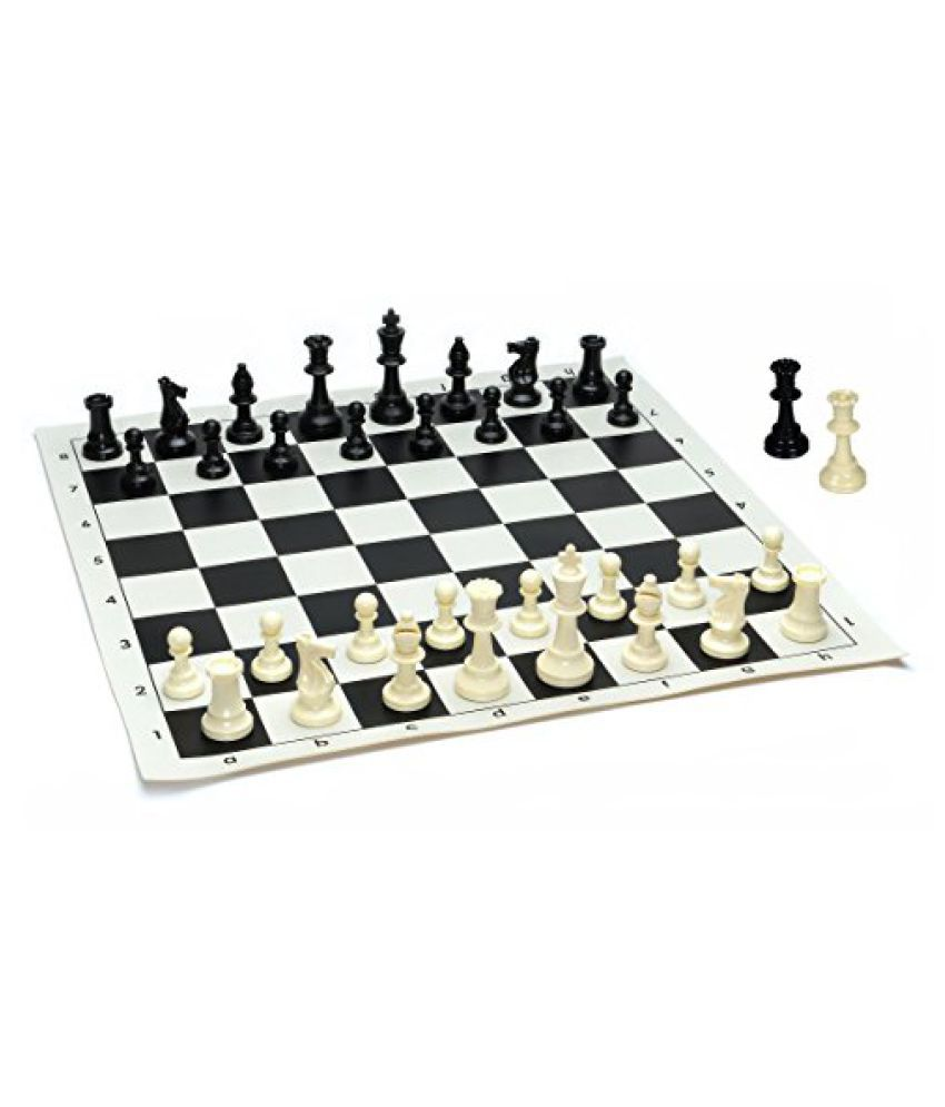 We Games Best Value Tournament Chess Set - Filled Chess
