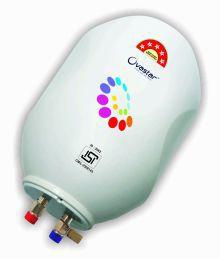 Ovastar 25 Ltr Ltr Electric Water Heater Oweg-3966 Storage Geysers White