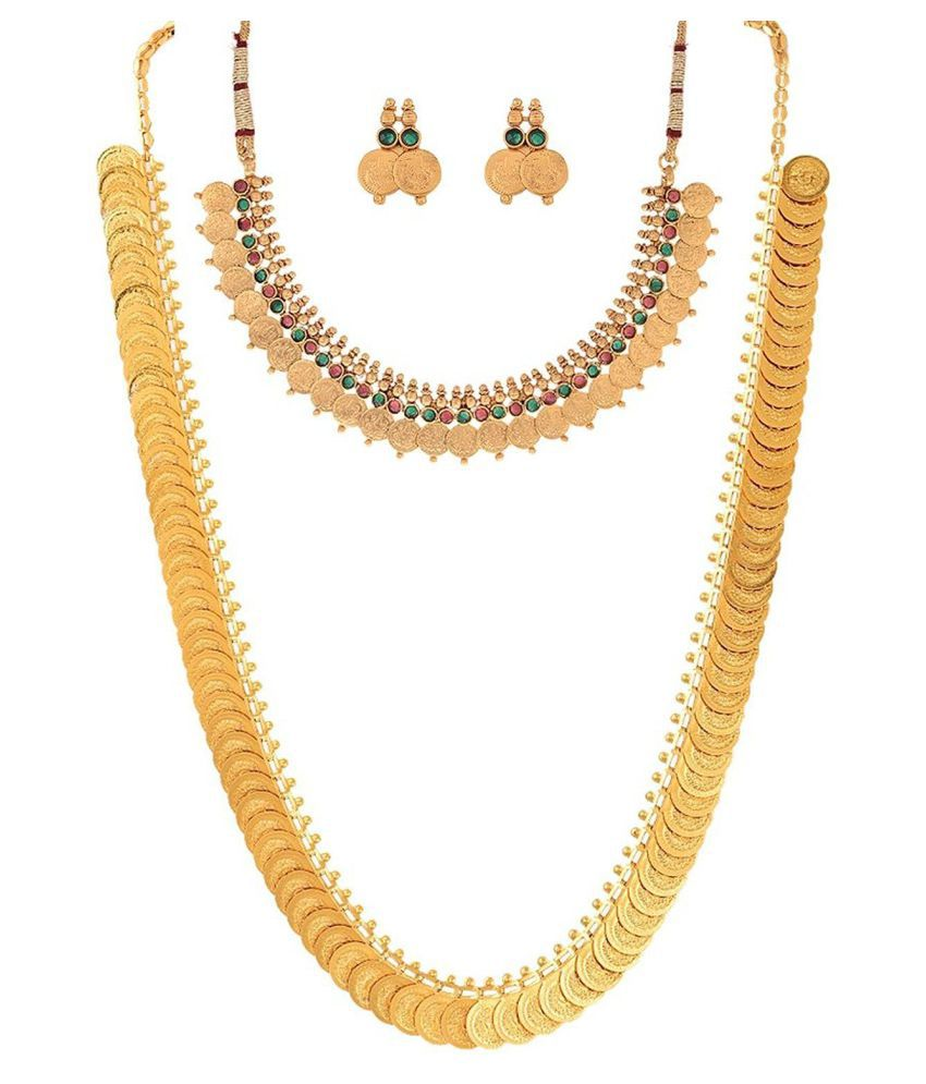 J S Imitation Yellow Necklace Set