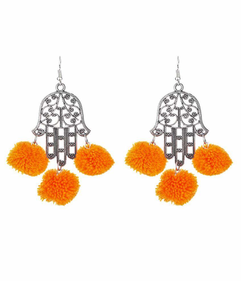 WM Multicolor Hanging Earrings