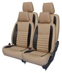 Vini's Beige Car Set Cover - Set Of 4