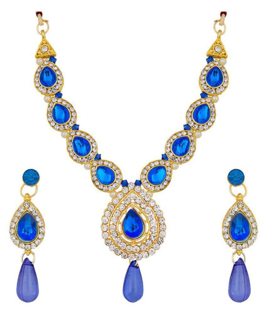 The Luxor Gold Plated  Necklace Set