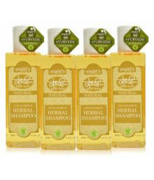 Khadi Herbals Anti-Dandruff Shampoo 4 Ml Pack Of 4 - 631025660564