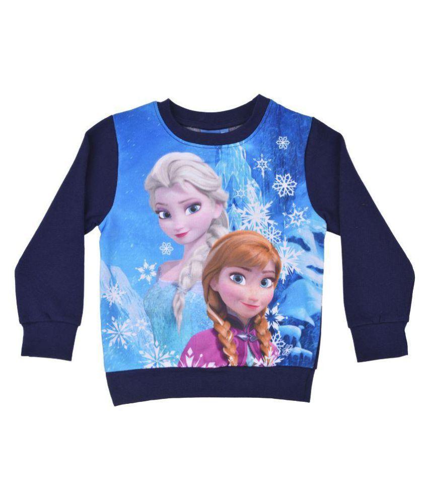 Kuddle Kids Multicolour Cotton Sweatshirt.