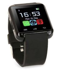 JM Jjeo613 Black Android Smart Watch with Remote Camera