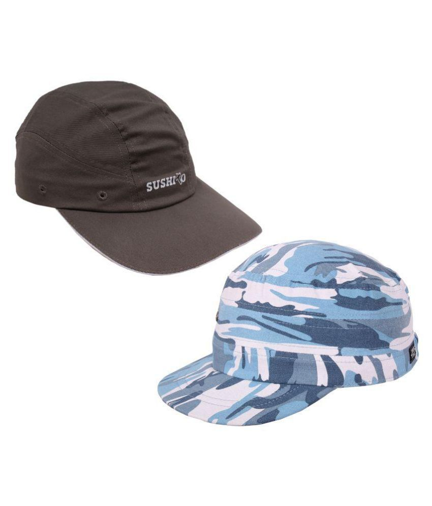 Jstarmart Multi Graphic Polyester Caps