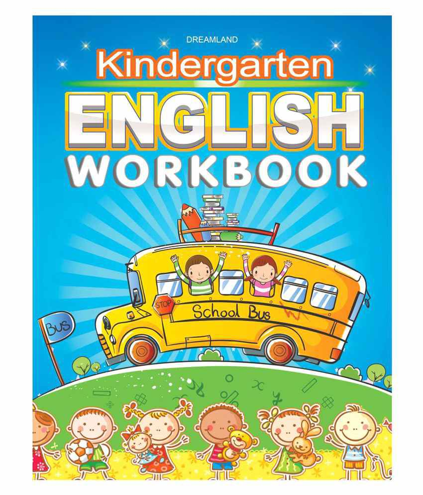 Kindergarten English Work Book Paperback English: Buy Kindergarten ...