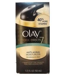 Olay Imported Total Effect 7 In One Anti-Aging Moisturizer Fragrance Free (40% More Vitamins ) 50 Ml